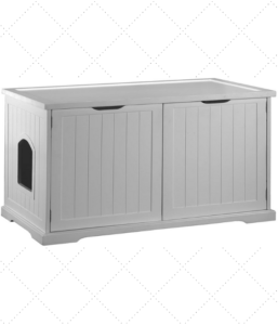 Litter Box Furniture For Two Boxes